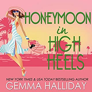 Honeymoon in High Heels     A High Heels Mysteries Novella              By:                                                                                                                                 Gemma Halliday                               Narrated by:                                                                                                                                 Caroline Shaffer                      Length: 1 hr and 53 mins     67 ratings     Overall 4.3