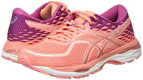 Asics Gel-Cumulus 19, Zapatillas de Running para Mujer, Rosa (Begonia Pink/Begonia Pink/Baton Rouge 0606), 38 EU