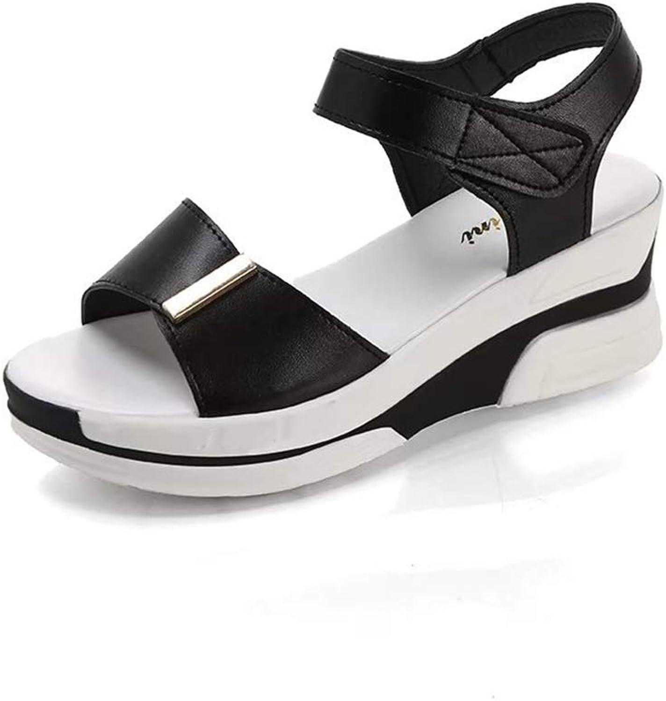 F1rst Rate Women Platform Summer shoes Ankle Strap Wedge Heel Sandals