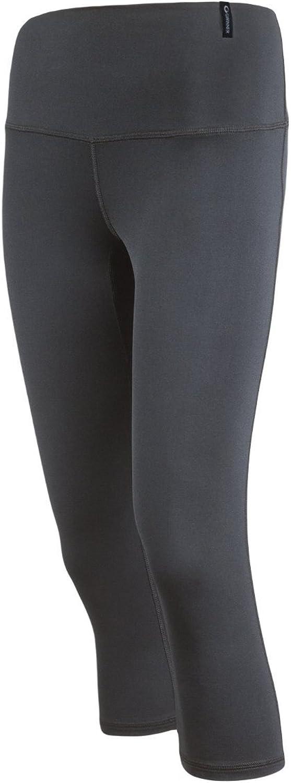 Schwarz Gwinner Damen Slimming Leggings CLIMAline Hose XXL