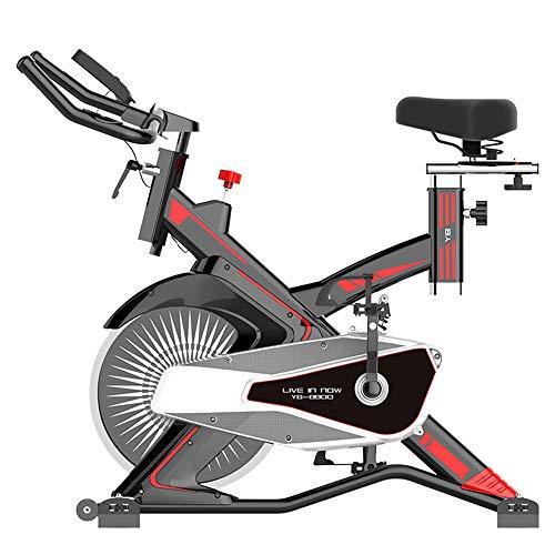 Profesional Bicicleta de ejercicio para interiores, Hogar Unisex Oficina portátil Pérdida de peso Abdominal Fitness Bicicleta Resorte Amortiguador de resistencia Ajuste de resistencia Equipo deportivo