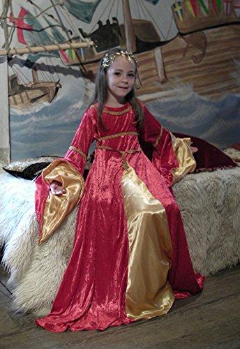Pouce et Compagnie - PC0223 - Robe Aliénor - 6-9 ans -princesse médiévale