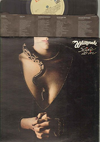 SLIDE IT IN VINYL LP[LBG2400001]1984 WHITESNAKE