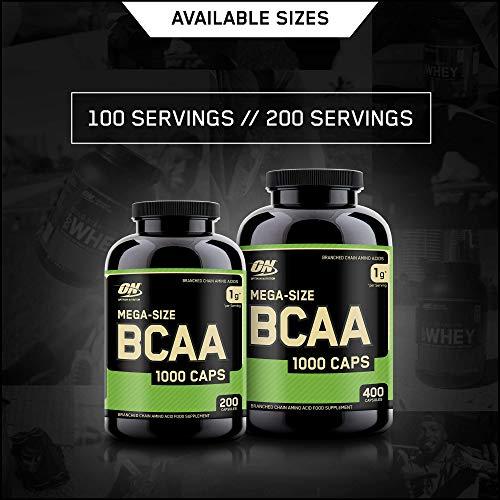 Optimum Nutrition BCAA 1000- 400 Kapseln , 1er Pack (1 x 400 g) - 5
