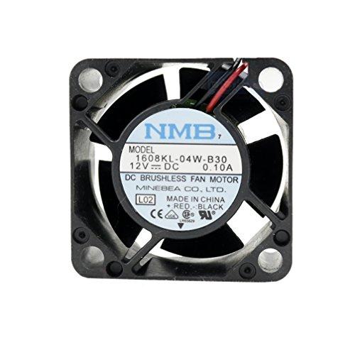 NMB Lüfter 40 mm 40x40x20 1608KL-04W-B30 Kühlung 12 V 4 cm 2 Kabel (+/-) 0.10 A Sleeve 4 cm