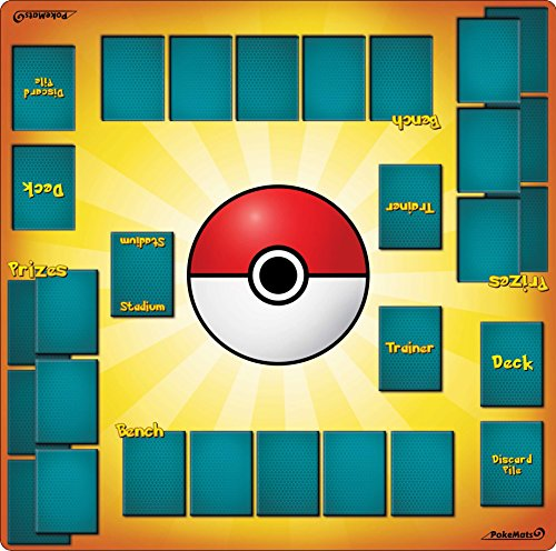 PokéMats 2 Player Trainer Playmat …