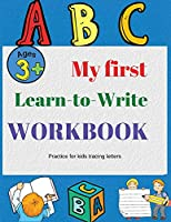 Alphabet Handwriting Practice workbook for kids: Trace letters Preschool writing Workbook with Sight words for Pre K Kindergarten and Kids Ages 3-5 ABC print handwriting book