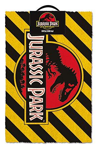 Pyramid International Jurassic Park - Doormat Warning