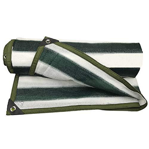 SSRS Protección Pantalla de Tela de sombreado Neto toldo del Sol Anti-UV Balcón Patio de Coches Toldo terraza al Aire Libre, 22 Tamaños portátil, Duradero (Color : Green, Size : 4X6M)