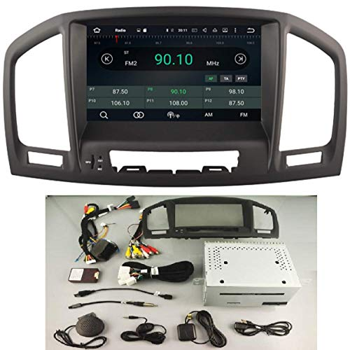 KasAndroid AUTORADIO Android 10.0 Compatibile con Opel Insignia modello CD200/CD400/CD600 QUAD Core, 2GB RAM, 16GB ROM GPS, 2 ANNI DI GARANZIA anno: 2008 2009 2010 2011 2012/4G Navi navigatore Auto