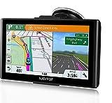 GPS para Coche Pantalla Táctil de 7 Pulgadas Navegador GPS Mapas de la UE preinstalados actualizaciones de por Vida