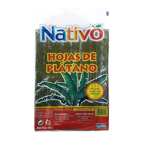 Nativo Hoja de plátano 500GR