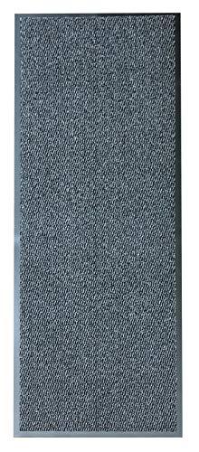 Rehome slitstark halkfri barriärmatta stora små mattor löpare kök dörr hall (60 x 180, grå)