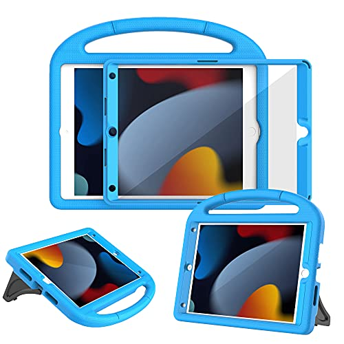 Surom Case with Built-in Screen Protector for iPad 10.2 Inch 2021/2020/2019...