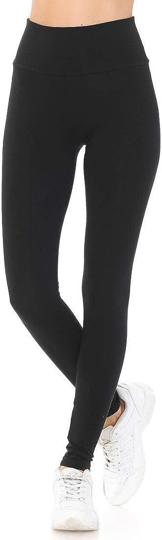 Little Vintage Girls High Waisted Legging for Women Full Length, Stretchable Cotton