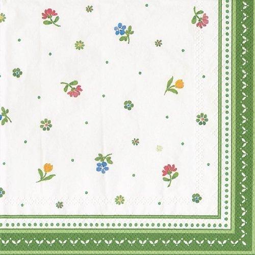 Lot de 20 serviettes en papier déjeuner Motif Agriculteur de printemps Blossom par Villeroy & Boch