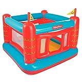 Bestway 93504 - Castillo Hinchable Fisher Price Bouncetastic 175x173x135 cm