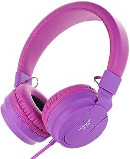 XGCCDAU Kanen IP-950 Over-Head Foldable Studio Stereo Headphone Headset (Color : Purple)