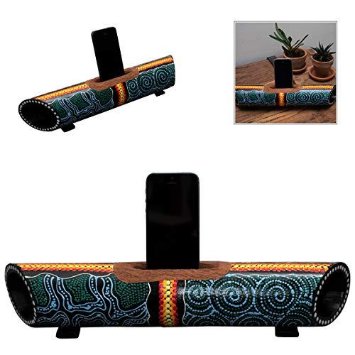 Australian Treasures - Smartphone Altavoz & Soporte Aboriginal Style