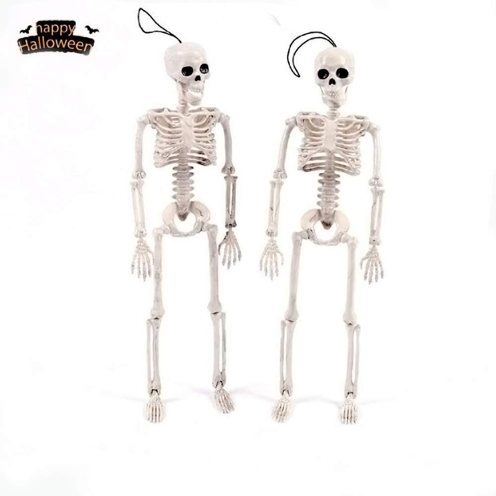 "Prextex 19"" Posable Halloween Skeleton- Full Body Halloween"