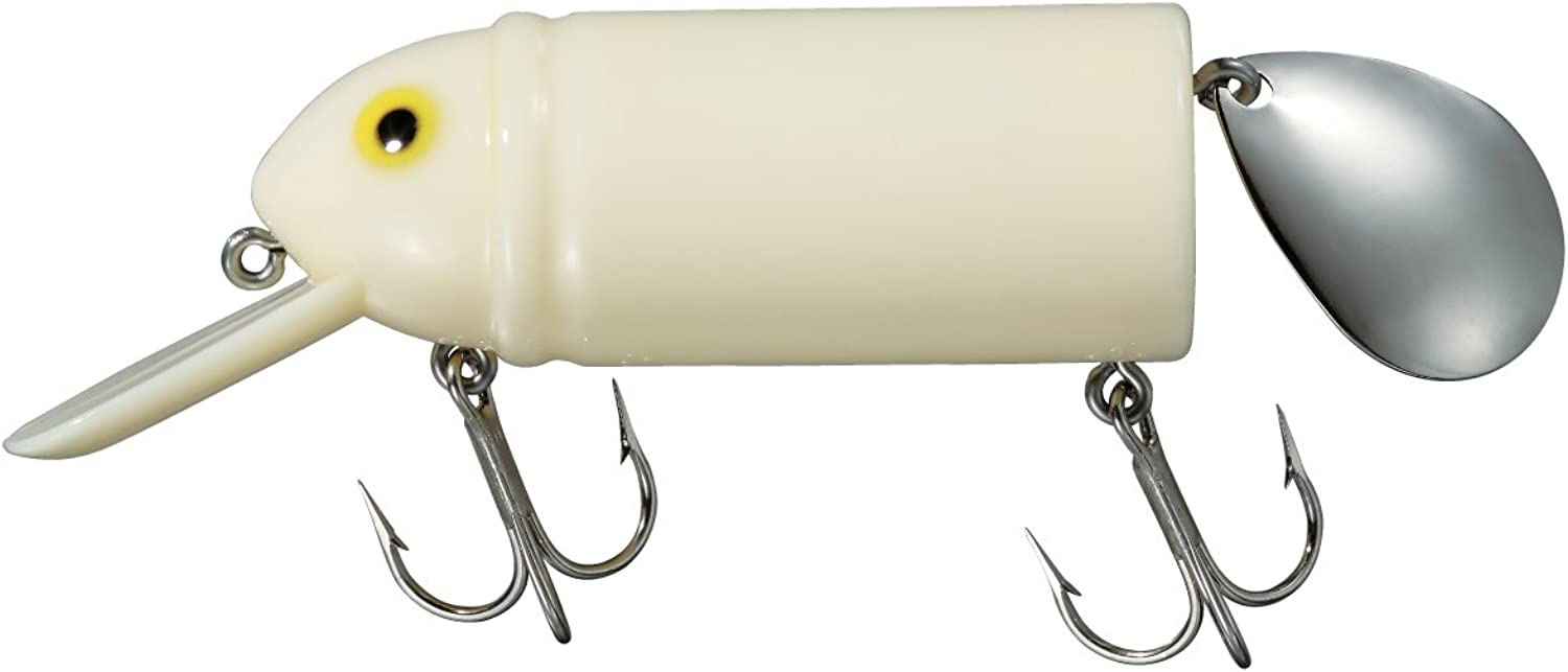 Smith (SMITH LTD) noisy Heddon Biggubado 2-3   4inch 6.99cm 5   8oz 18g Bone   3