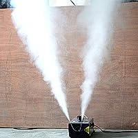るフォグマシン 煙霧機、1000W霧機械を持つ2つの口にスプレーワイヤレスリモートコントロール用ハロウィンウェディングパーティーディスコDJの影響