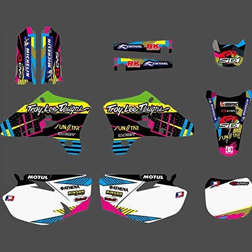 Pegatinas de Motocross Fondo por Completo de gráficos Adhesivos Pegatinas Motocicleta for Yamaha YZ250F YZ450F YZF 250 450 2003 2004 2005