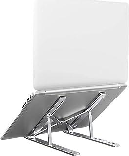 Laptop Stand, Tendak Portable Computer Desktop Stand Adjustable Foldable Travel Notebook Holder Mount for