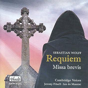 Wolff: Requiem / Missa brevis