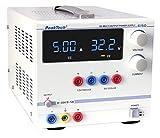 PeakTech Digtial Labornetzteil - Labornetzgerät 0-30V / 0-5A DC, stabilisiert, linear regelbar, 1 Stück, P 6150