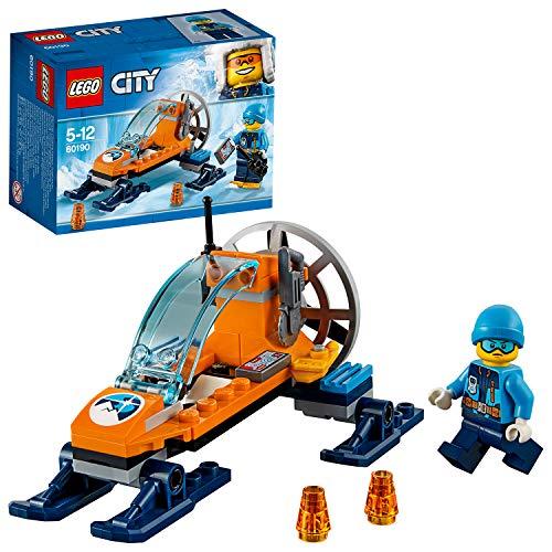 LEGO City - Ártico Trineo Glacial, Juguete Creativo de Cons