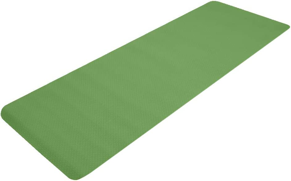 6mm Discount mail order Thick TPE Non-Slip Yoga Non Gym Max 53% OFF Print Mat Extra