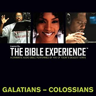 Inspired By … The Bible Experience Audio Bible - Today's New International Version, TNIV: (36) Galatians, Ephesians, Philippians, and Colossians audiobook cover art