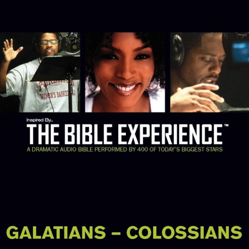 Inspired By … The Bible Experience Audio Bible - Today's New International Version, TNIV: (36) Galatians, Ephesians, Philippians, and Colossians  By  cover art