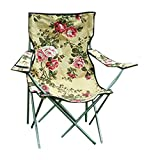 Victorian Trading Floral Chintz Camping Chair