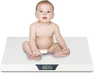 کودک مقیاس ، مقیاس الکترونیکی حیوان خانگی الکترونیکی YiiMO در lbs و اونس LCD صفحه نمایش برای نوزاد ، کودک نوپا ، نوزاد ، توله سگ ، گربه ، وزن سگ با عملکرد نگه داشتن حداکثر 44LB (سفید)