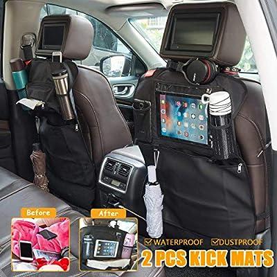 MATCC Car Seat Back Organizer Kick Mats for Kid...