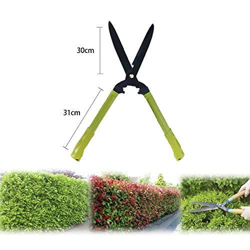 ALLPER Tijera de podar Plegable para jardín, Material Resistente, Metal. 30 cm de Hoja, 64 cm con el Mango.
