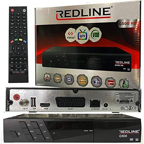 SATÉLITE IPTV-Receiver REDLINE G500 HD