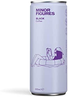 Minor Figures Nitro Cold Brew — Black, 200 ml