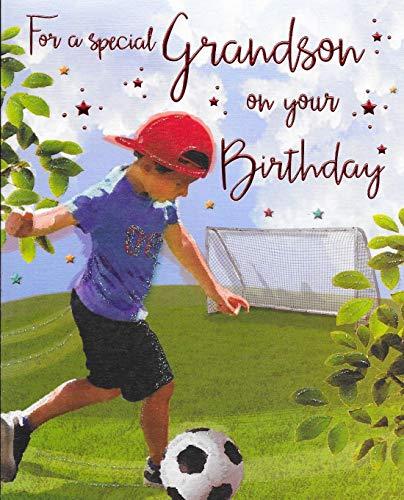 Tarjeta de cumpleaños para nieto – 20 x 15 cm – Regal Publishing