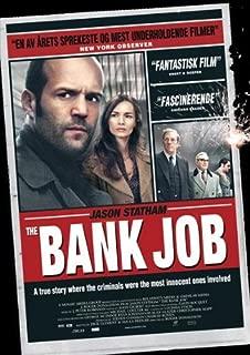 Pop Culture Graphics The Bank Job Poster Norwegian 27x40 Jason Statham Saffron Burrows Daniel Mays
