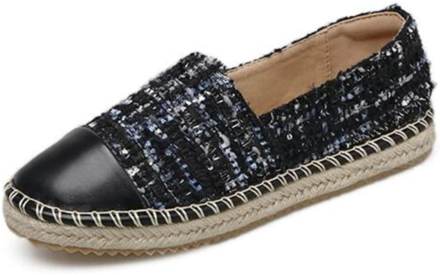 Super frist Women's Deconstructed Alpargata Casual Loafer