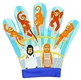 The Puppet Company - Guante para marioneta con diseño de Cinco Monos