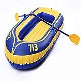 ACEWD Kayacs Hinchables De 2 Plazas, Barca Hinchable con Remos 2 Personas, Botes Inflables De Rio, Balsa Hinchable para Rafting