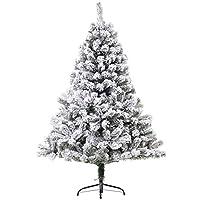 ✅ALBERO NATALIZIO INNEVATO DA 1,40 m DI ALTEZZA: Le foglie coperte di neve rendono questo albero di Natale artificiale estremamente naturale, affascinante ed evocativo, ricreando un'atmosfera natalizia unica. Adatto a qualsiasi spazio interno durante...