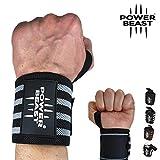 Nuevo Power Beast Handgelenk Bandagen [Wrist Wraps] 56 cm Handgelenkbandage für Fitness,...