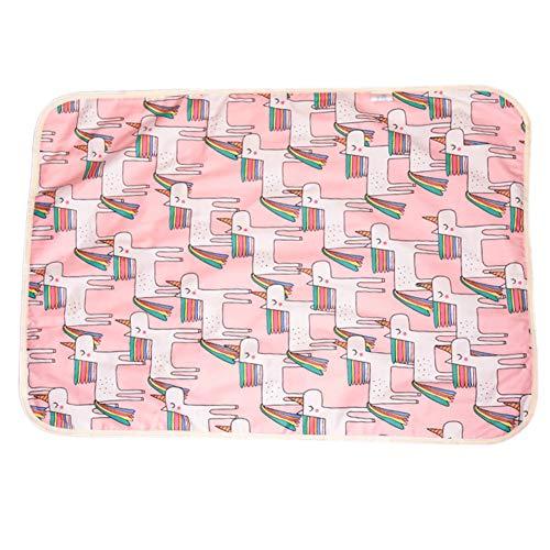 ETbotu baby geschenken - Baby 3-laags katoen waterdichte beschermer pad niet slip bed pad 30x45cm A 30 * 45cm