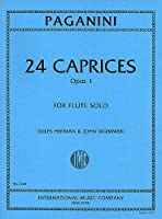 PAGANINI - Caprichos Op.1 (24) para Flauta (Herman/Wummer)