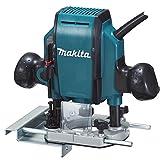 Makita RP0900J Fresatrice Verticale, 900 W, 8 mm...